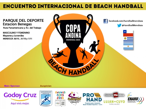 Beach Handball en Godoy Cruz